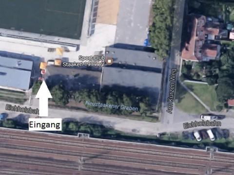 Eingang Casino SC Staaken