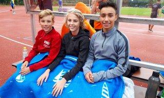 Tim, Moritz und Malique